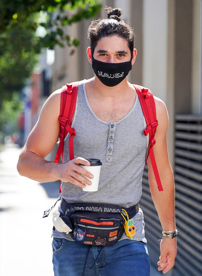 Alan Bersten, pictured on October 14, 2020, joined So You Think You Can Dance Season 10 in 2013