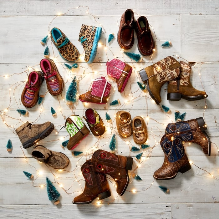 Ariat makes boots in all sizes for women, men, and children