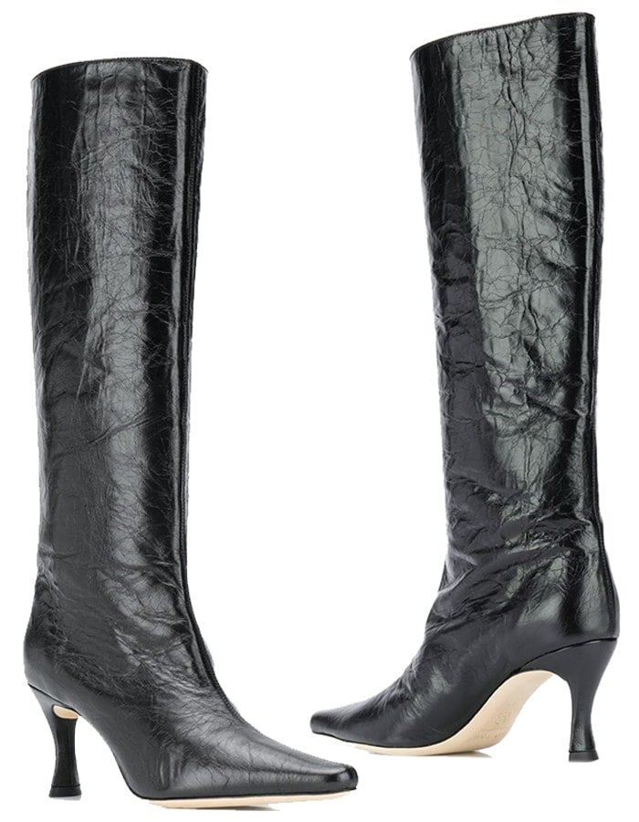 By Far 'Stevie 42' Textured Boots