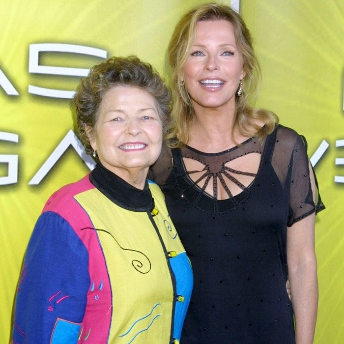 """Cheryl Ladd with her mother Marion Stoppelmoor during NBC Cocktail Party for """"Las Vegas"""""""
