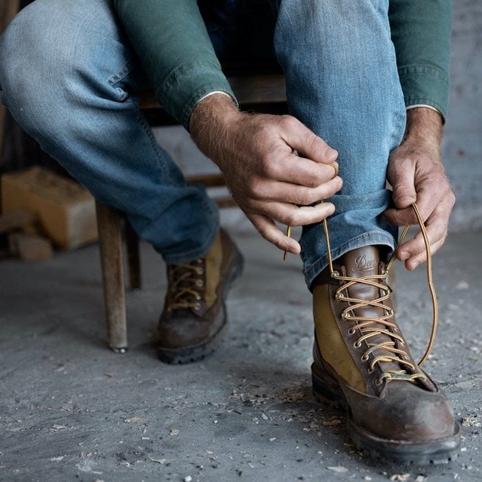 Danner's boots and shoes are sized according to the Brannock device and are in US sizes