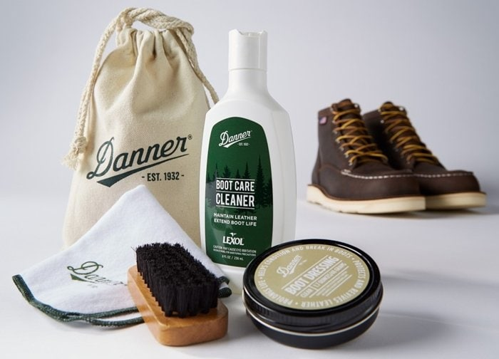 Occasional cleaning and conditioning can help to prolong the life of your Danner boots