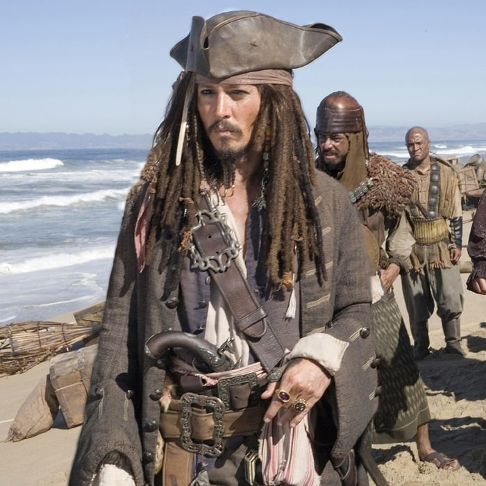 Johnny Depp based his British Jack Sparrow accent on Keith Richards