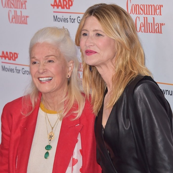 Diane Ladd and Laura Dern attend AARP The Magazine's 19th Annual Movies For Grownups Awards