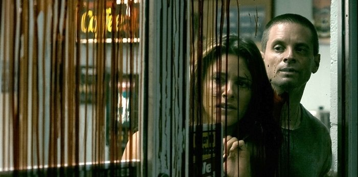 Jill Wagner and Shea Whigham starred in Splinter, a 2008 American horror film directed by Toby Wilkins