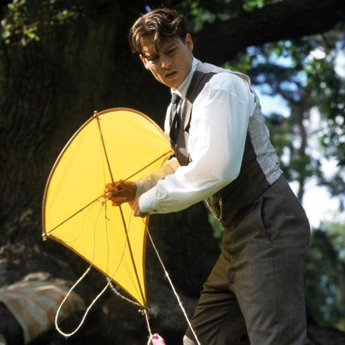 Johnny Depp portrayed Scottish writer J. M. Barrie in Finding Neverland, a 2004 historical fantasy drama film