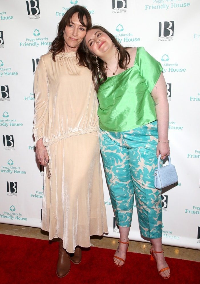 Katey Sagal and Lena Dunham attend Friendly House 30th Annual Awards Luncheon