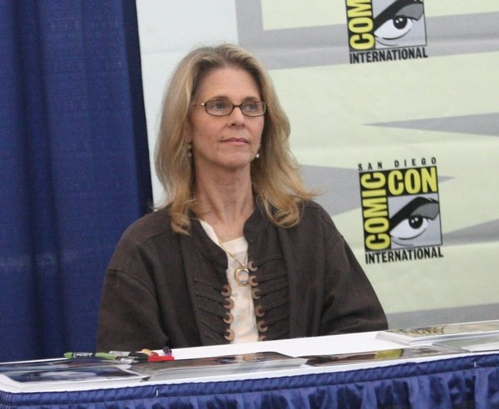 Lindsay Wagner attends Comic-Con in San Diego on July 25, 2010