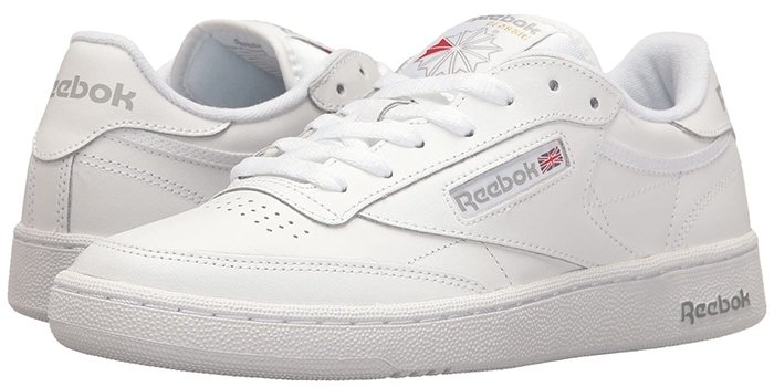 Join the club that brings classic tennis style to your wardrobe with the Reebok Lifestyle Club C 85 sneakers