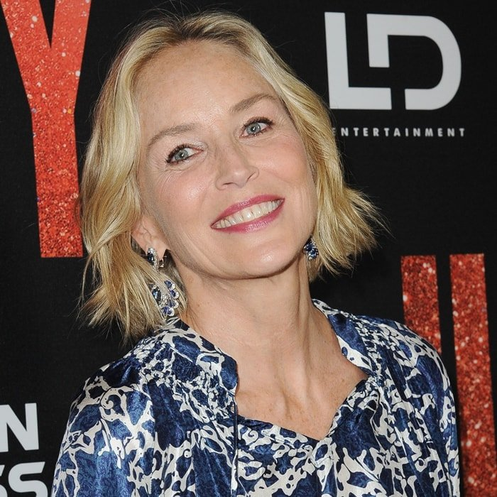 Sharon Stone's life changed in September 2001 when she had a stroke