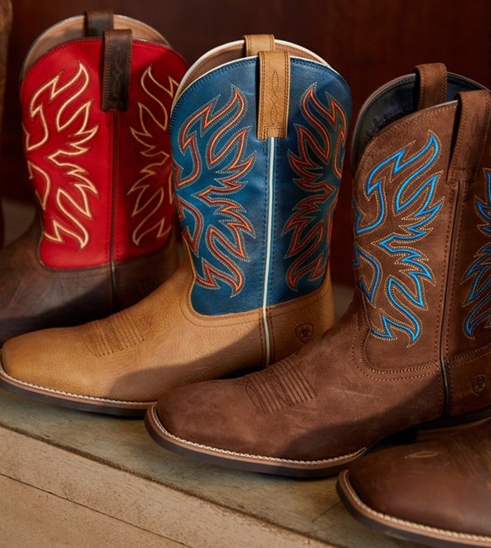 The Everlite collection from Ariat features lightweight yet durable boots
