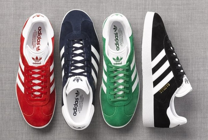 The Gazelle OG was first introduced in 1968 as an indoor soccer shoe and became the Gazelle we know today several years later