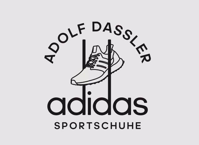 "In March 1949, Adolf ""Adi"" Dassler registered the three-stripe logo as Adidas' trademark"