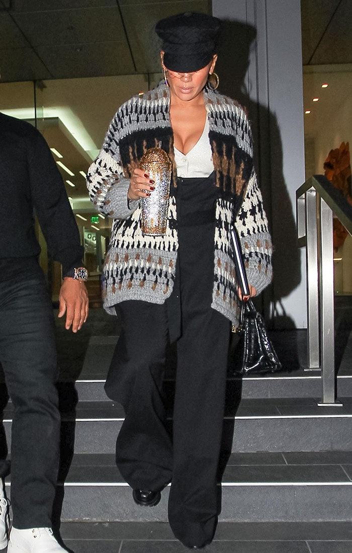 Jennifer Lopez leaving Soho House West Hollywood on October 23, 2020