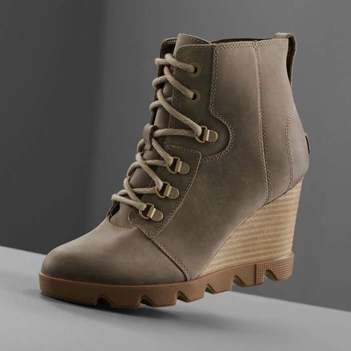 The urban-chic wedge boot for an instant style boost