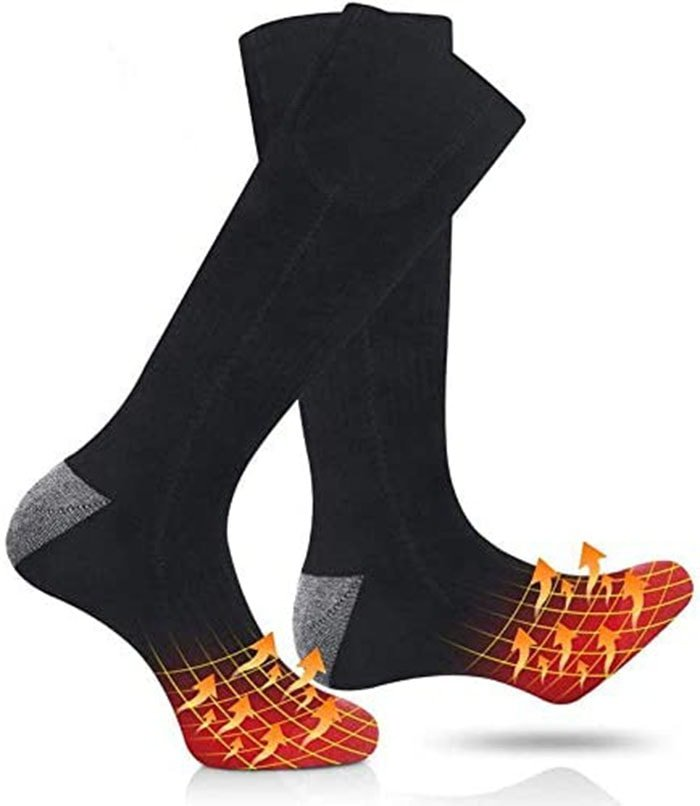 These hated socks are warm and comfortable to wear