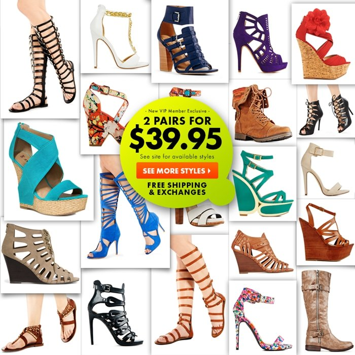 JustFab offers amazing deals on boots, heels, and sandals