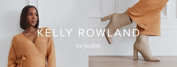 Kelly Rowland dropped a capsule collection with JustFab in October 2020