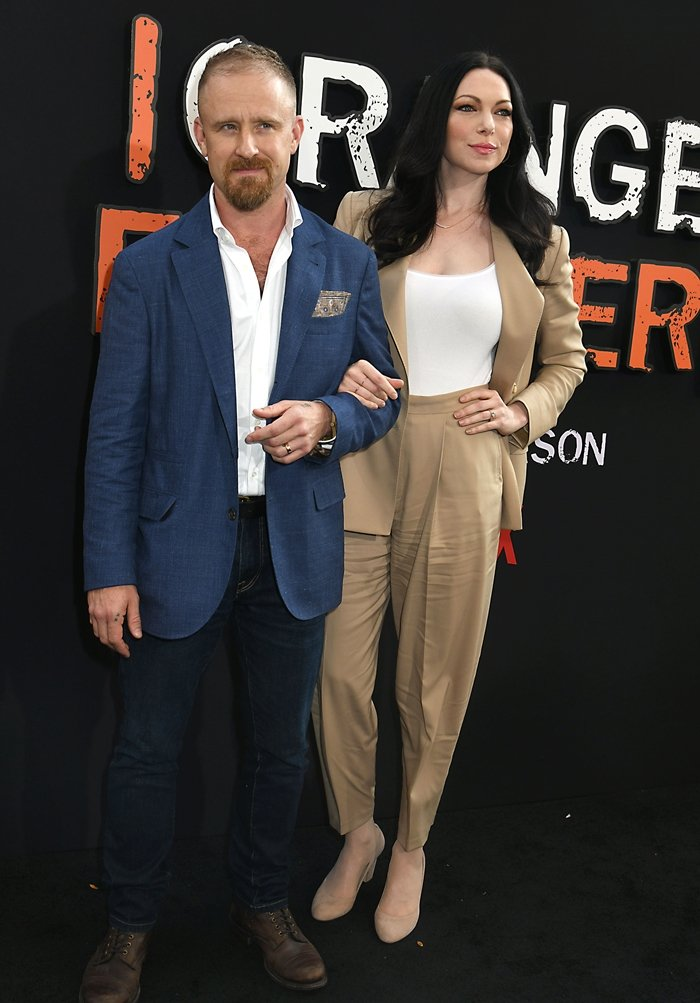 "Ben Foster and his wife Laura Prepon attend the ""Orange Is the New Black"" Final Season World Premiere"