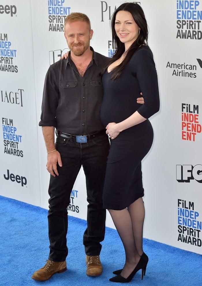 Laura Prepon is much taller than her husband Ben Foster
