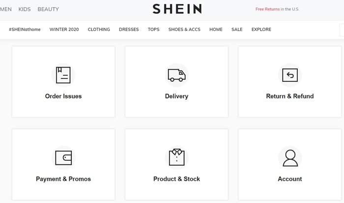 Customers frequently complain about Shein's customer service, shipping delays, and credit card problems