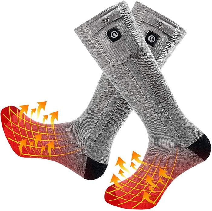 Snow Deer Electric Heated Socks