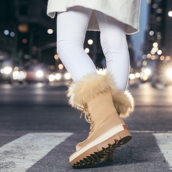Sorel's classic Joan of Arctic winter boot is seam-sealed, waterproof, and insulated for warmth and protection