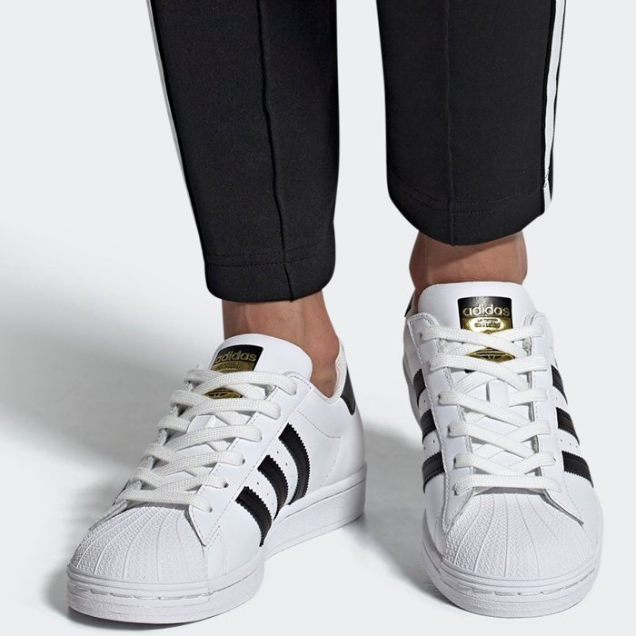 With its roots in both hoops and hip-hop, the Superstar is a low-top athletic shoe manufactured by Adidas since 1969