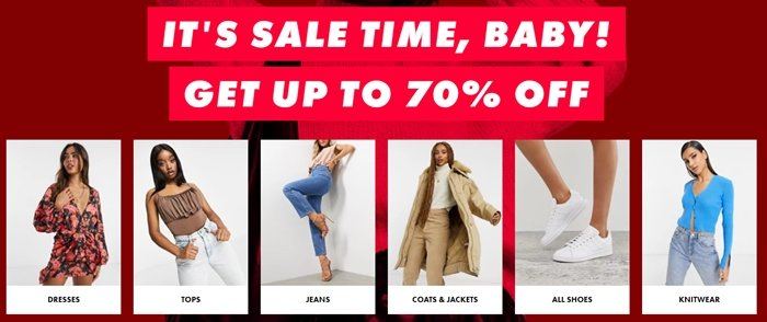 ASOS is a British online fashion and cosmetic retailer primarily aimed at young adults