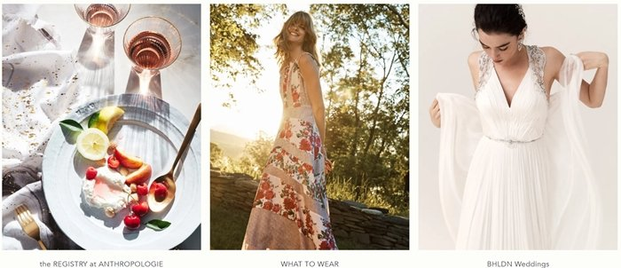 Explore Anthropologie's unique collection of wedding dresses and shoes, from brides to bridesmaids featuring the season's newest arrivals
