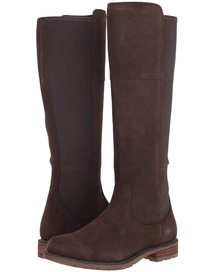 A sleek silhouette matched with modern interior comfort makes the Ariat Sutton H2O boot the ideal choice for everyday wear in both good and wet weather