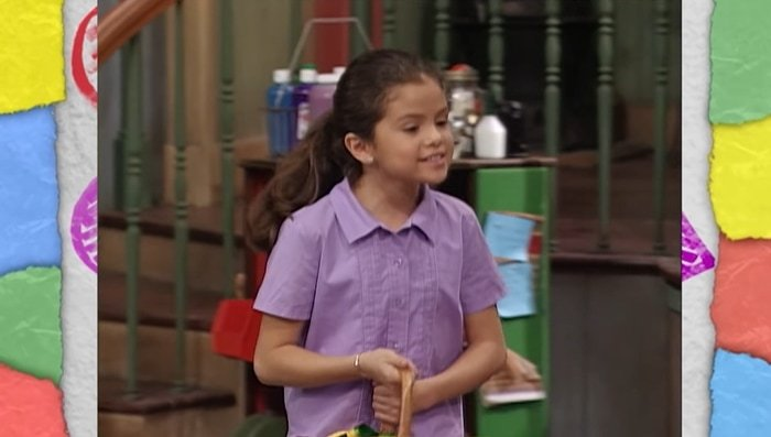 Selena Gomez began her career by appearing on the children's television series Barney & Friends (2002–2004)
