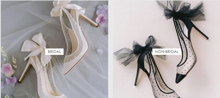 Bella Belle Shoes is an online luxury evening and wedding shoe store