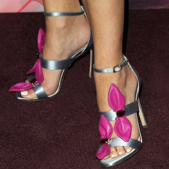 Cara Santana's sexy feet are shoe size 8 (US)