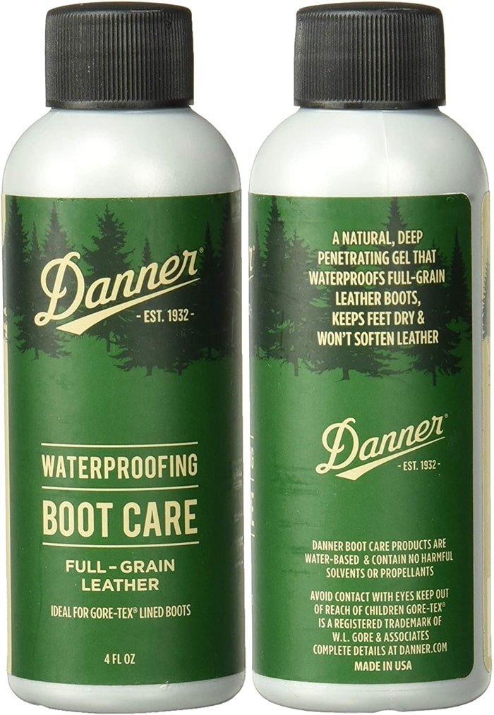 Danner's waterproofing gel blocks water from the outside without compromising breathability