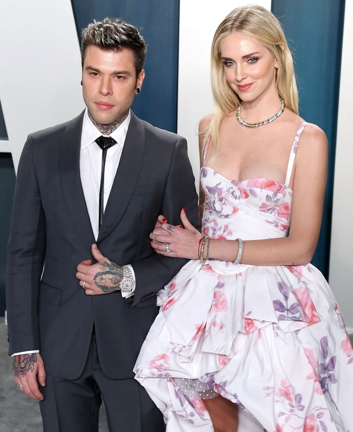 Six months after giving birth to Leone Lucia Ferragni, Chiara Ferragni wed Federico Lucia, known as Fedez, in Noto, Sicily on September 1, 2018