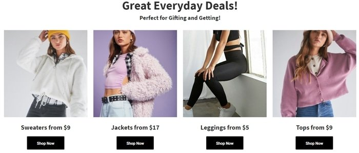 Forever 21 is an affordable clothing website every teenager should know