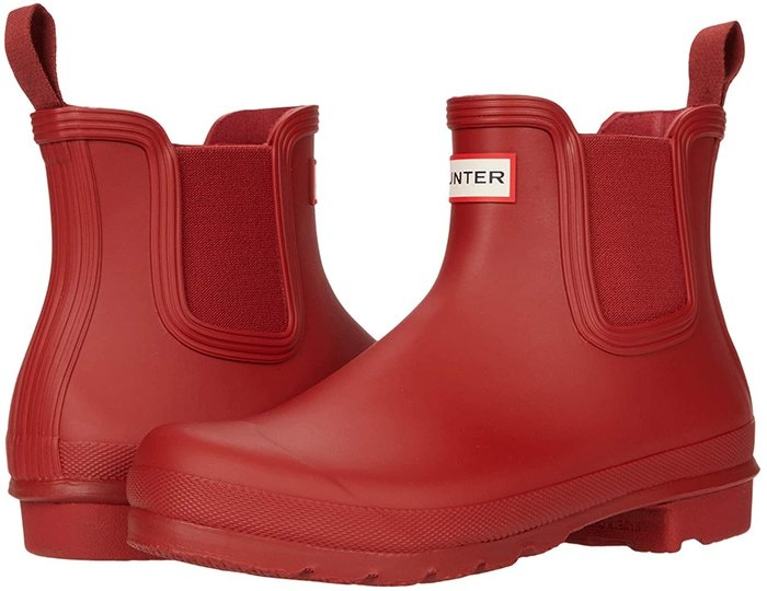 The Hunter Original Chelsea Boot has been engineered for an improved fit and all-day comfort