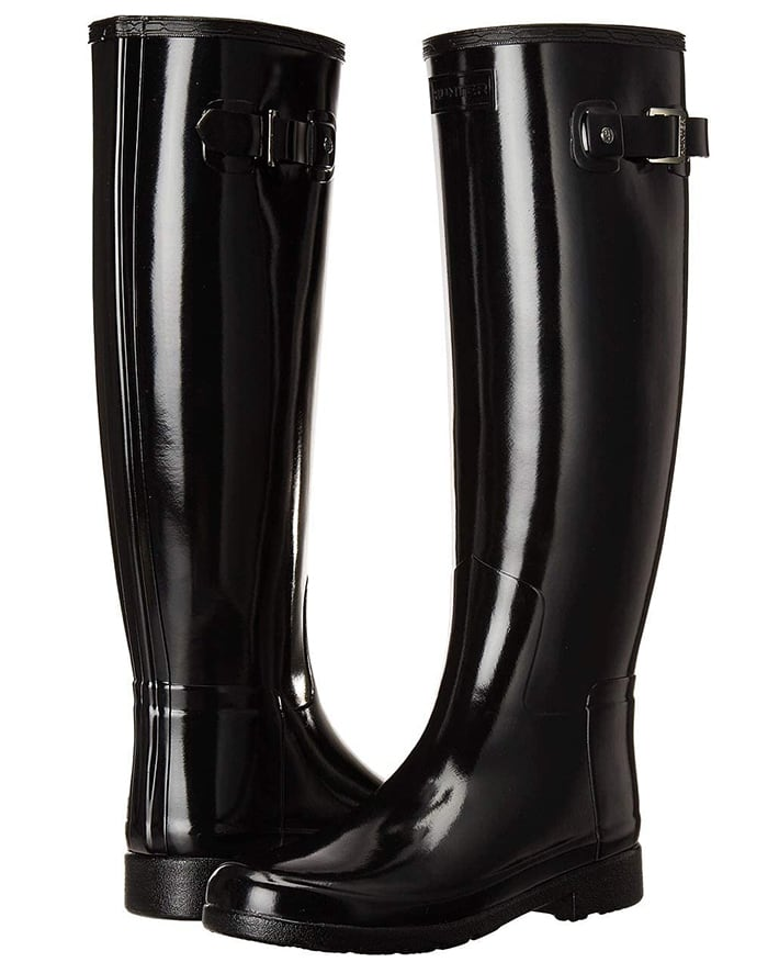 With as much versatility as the Hunter Original Gloss boots, this new design will cover all your bases