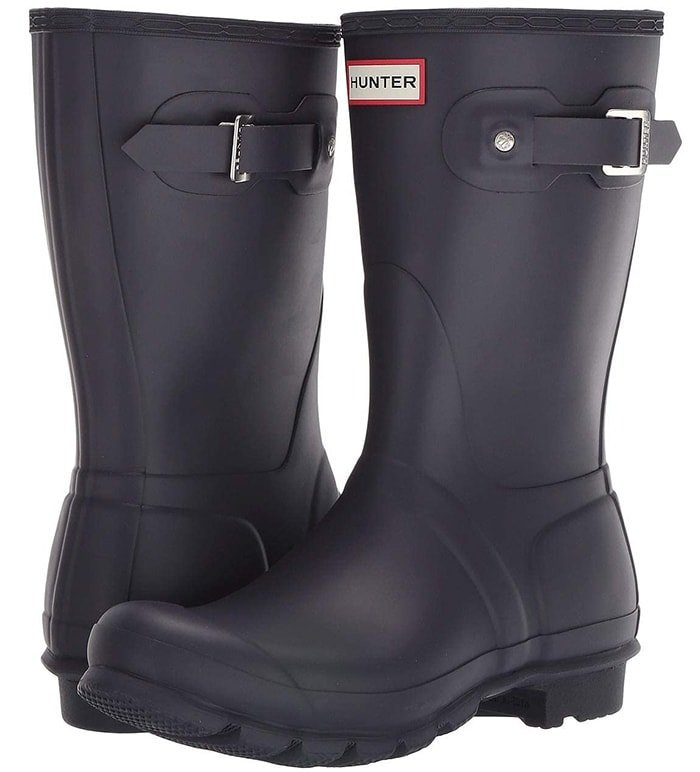 Formed of natural rubber, each boot is handcrafted and assembled over three days before being vulcanized for superior protection