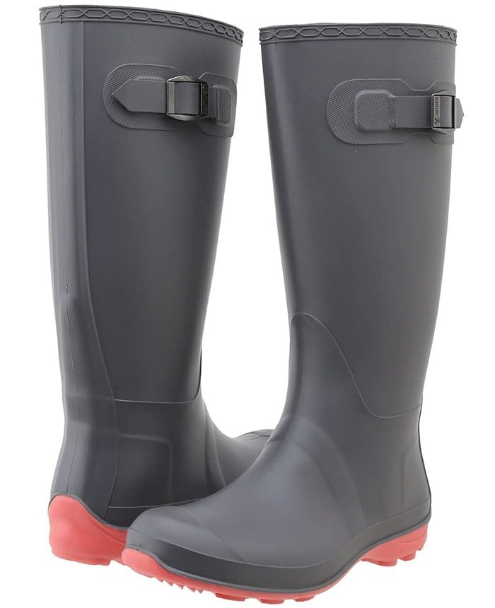Kamik's Olivia fashionable rain boots are the versatile boots that every woman needs