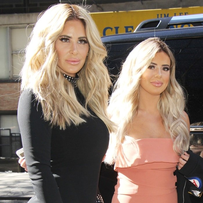 Kim Zolciak-Biermann and her daughter Brielle Biermann, who was born February 25, 1997, when Kim was just 18-years-old