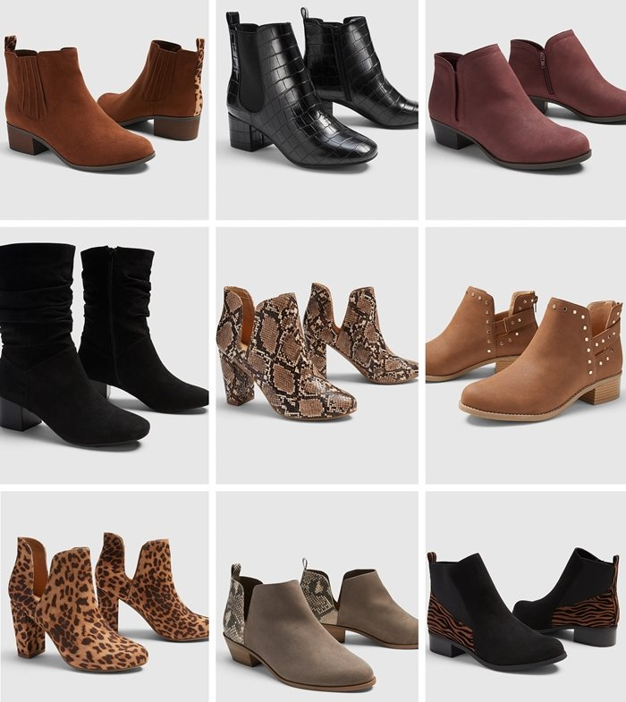 Lane Bryant specializes in comfortable plus size boots and shoes that you can use for every occasion