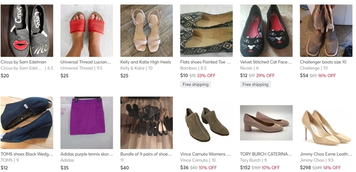 Good photos are essential if you want to sell shoes or other products on Mercari