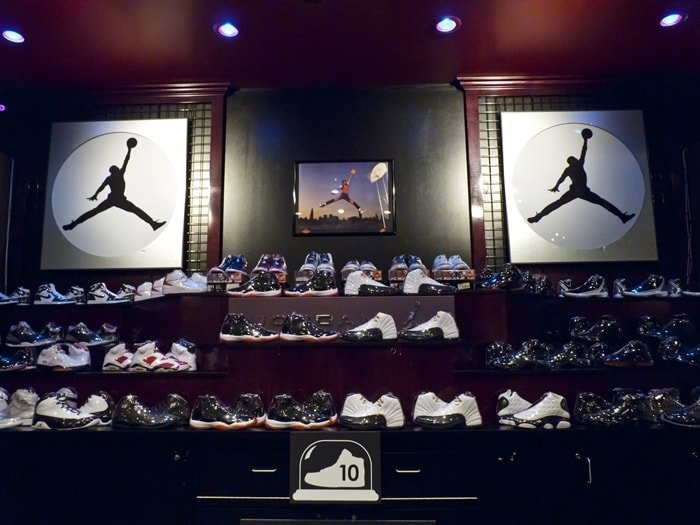 In 2013, a collector auctioned 2,500 Nike trainers on eBay with the aim of raising $1 million