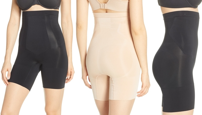Light yet powerful, this sculpting shaper has fully bonded front panels for a tabletop flat stomach and edge-bonded sides for comfy, squeeze-free slimming