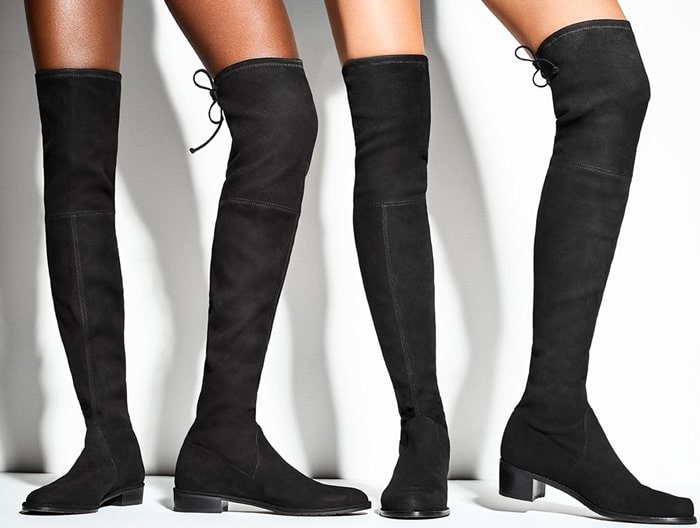 Stuart Weitzman is famous for its iconic stretch boot collection