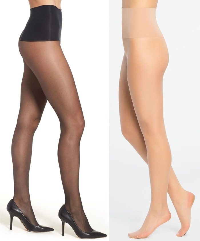With a waistband that targets the tummy and forgiving stretch with easy recovery, these sheers are perfect for everyday wear
