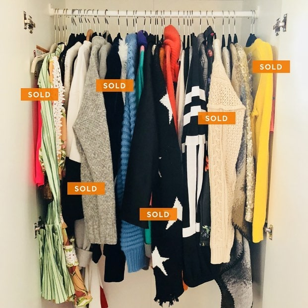 Easier to use than Poshmark and eBay, Marcari is the best app you can use to declutter your closet
