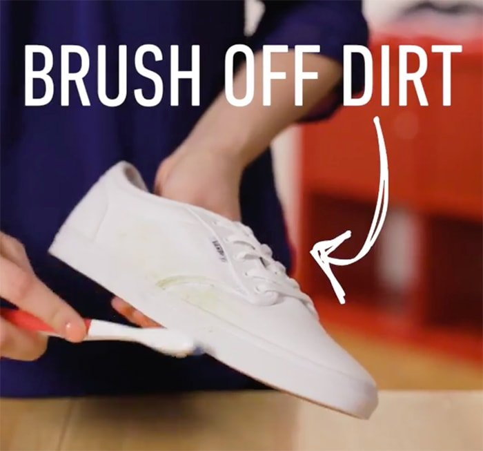 Gently remove the dirt and avoid any scuffs